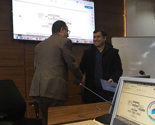 تفاهمنامه همکاری بین پارک علم و فناوری مدرس با پارک علم و فناوری خراسان