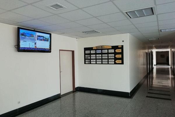 اجرای نرم افزار دیجیتال ساینیج برنا رسانه در دانشگاه بیرجند