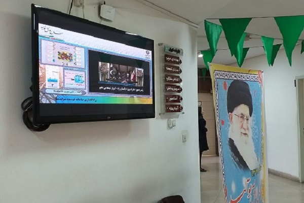 دیجیتال ساینیج نیرو تی وی در شرکت توزیع برق اصفهان