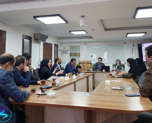 جلسه جذب سرمایه همراه اول در پارک علم و فناوری دانشگاه تربیت مدرس