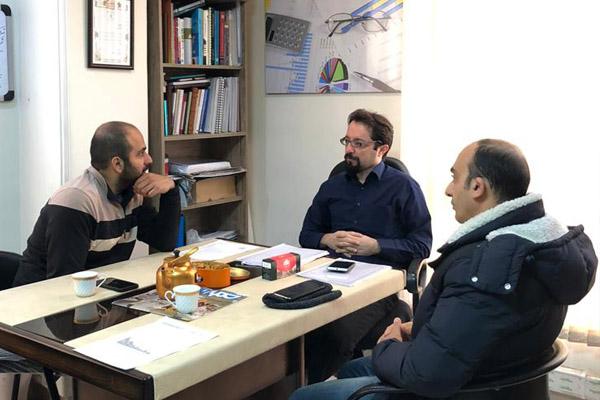 اجرای پروژه معماری فرآیندی چاپ و صحافی فریدالدین