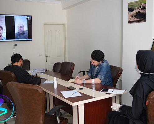 جلسه مجازی بین پارک و گروه خودروسازی سایپا