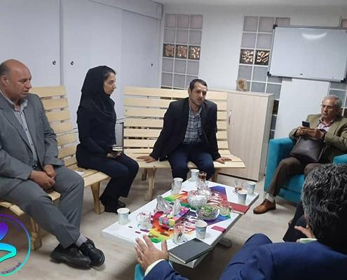 جلسه با تیم نظارت و ارزیابی معاونت علمی و فناوری ریاست جمهوری