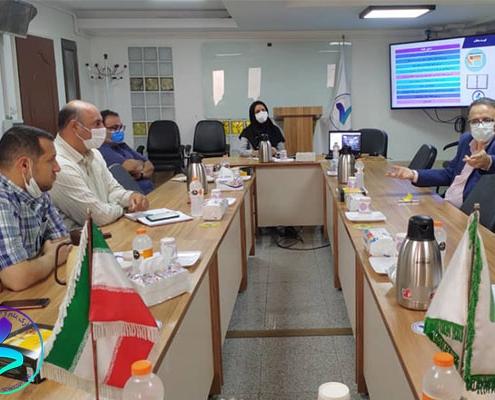 برگزاری صد و چهاردهمین جلسه شورای مدیران پارک