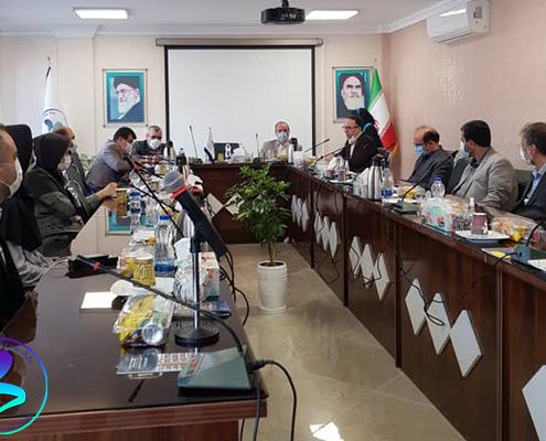 برگزاری جلسه بازدید از ساختمان پویش پردیس پژوهش پارک