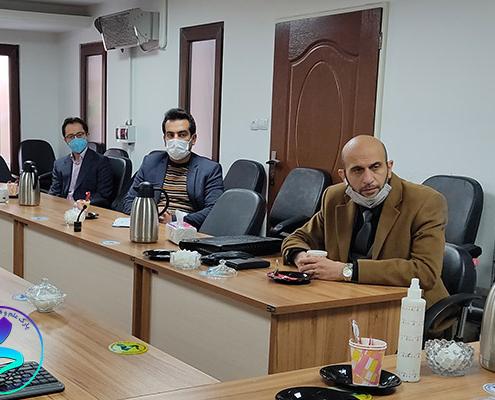 برگزاری جلسه پذیرش شرکت دادهپردازی نیلرام مانا