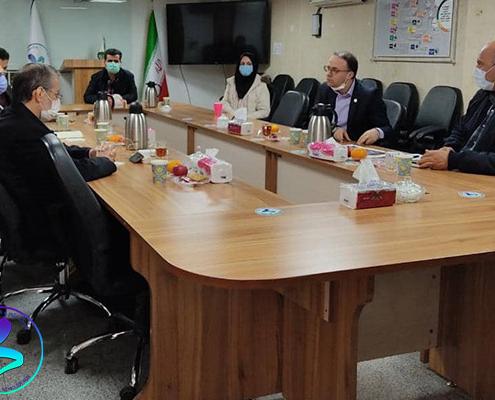 برگزاری جلسه بررسی همکاریها با دانشکده کشاورزی