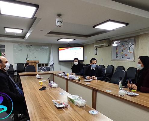 برگزاری پنجمین جلسه داخلی کمیته ناحیه نوآوری مدرس