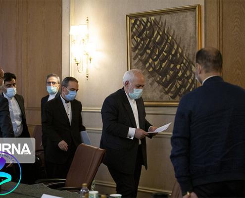 دیدار روسای پارکها با وزیر امور خارجه