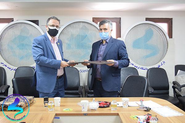 امضای تفاهمنامه مابین دانشگاه پیام نور شهریار و پارک