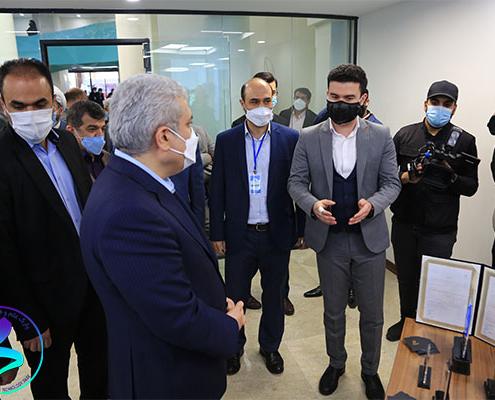 مرکز نوآوری و کسب وکار جوانه افتتاح شد