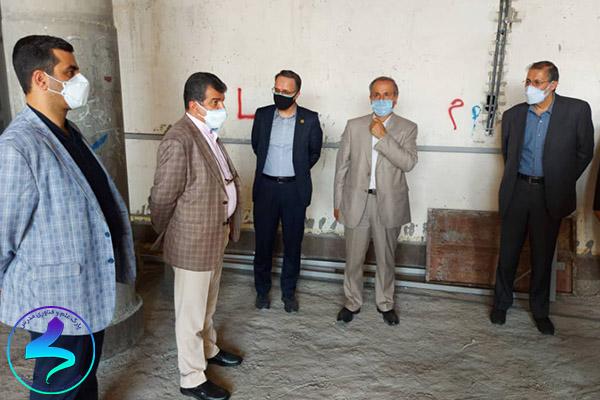 بازدید از مؤسسات مستقر در ساختمان رویش