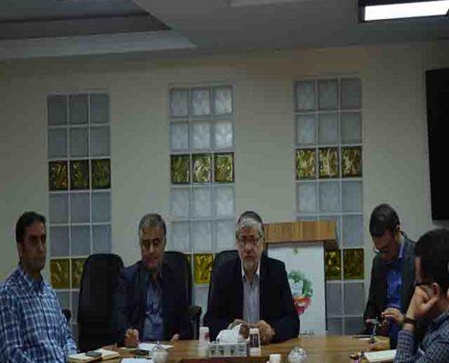 جلسه واحدهای فناوری با سرپرست پارک مدرس