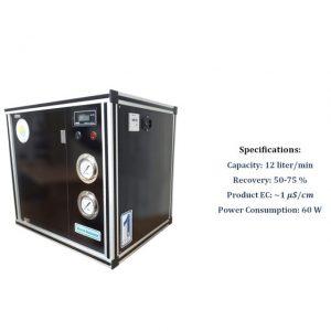 دستگاه دی یونایزر آب- با مشخصات