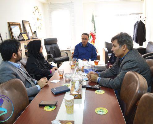 جلسه پارک علم و فناوری دانشگاه تربیت مدرس با سازمان اقتصادی کوثر تشکیل شد