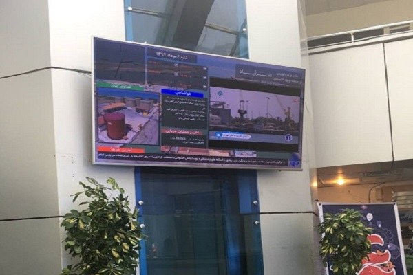 نصب و راه اندازی نمایشگرهای دیجیتال ساینیج منطقه ویژه اقتصادی امیرآباد