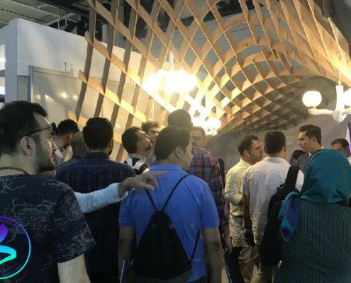 حضور شرکتهای پارک علم و فناوری دانشگاه تربیت مدرس در نوزدهمین نمایشگاه بینالمللی صنعت ساختمان