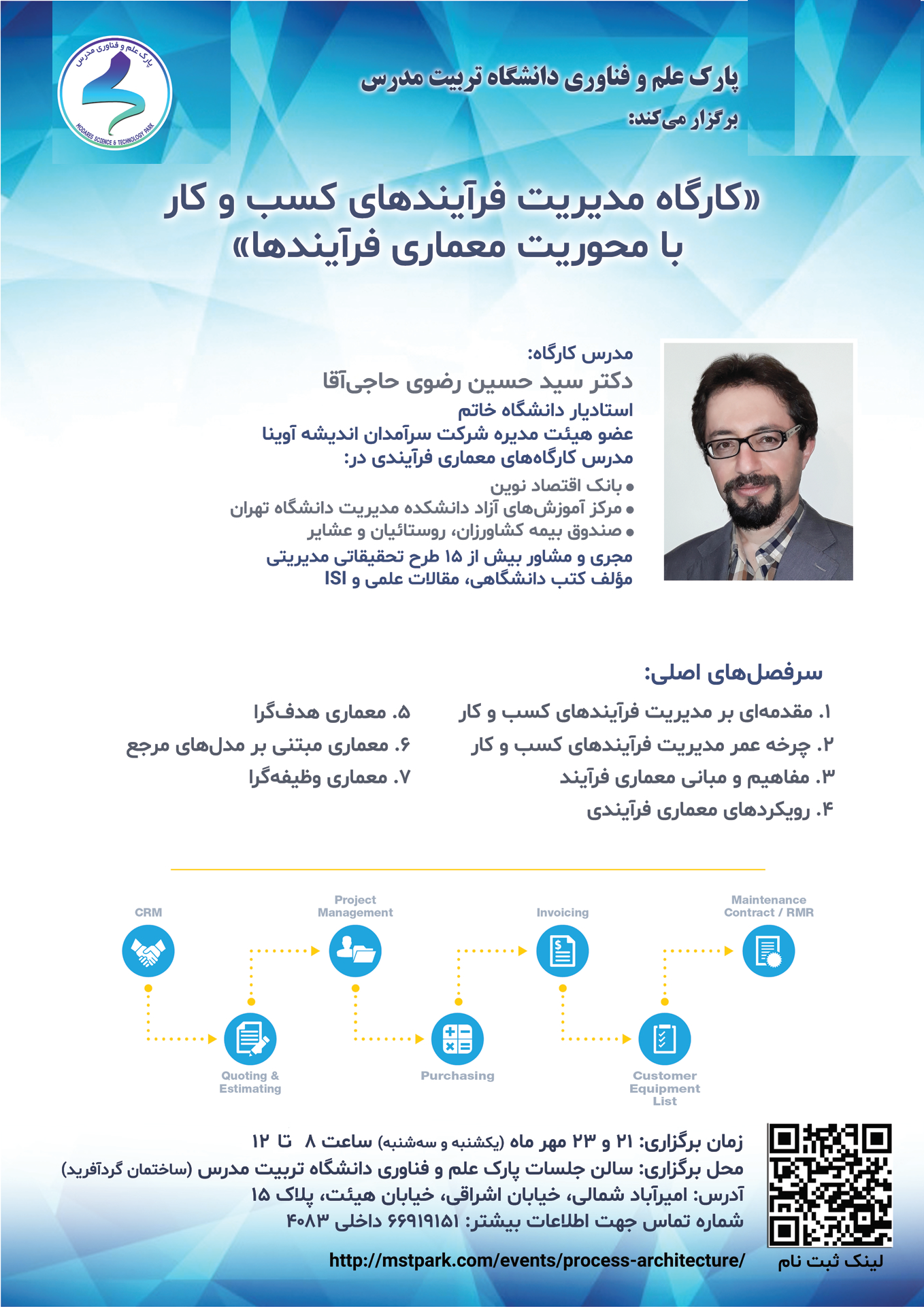 کارگاه آموزشی مدیریت فرایندهای کسبوکار