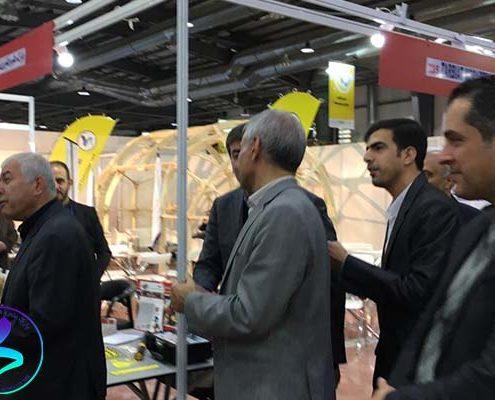 حضور پارک علم و فناوری مدرس در بیستمین نمایشگاه دستاوردهای پژوهش و فناوری