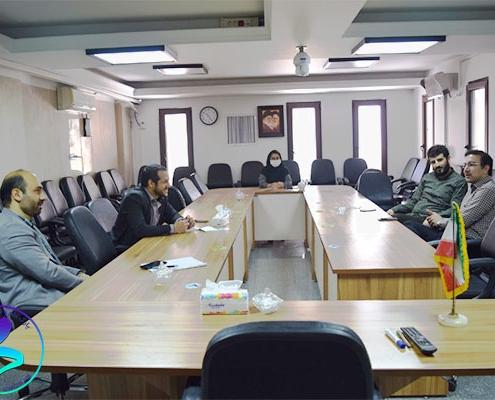 جلسه مدیران پارک با شرکت نقشه راه کسبوکار ایرانیان