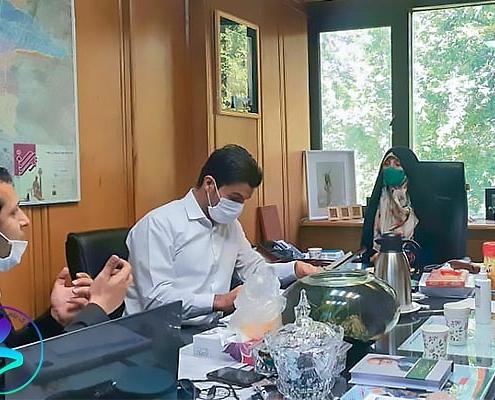 برگزاری جلسه مسئولین پارک در خصوص ناحیه نوآوری