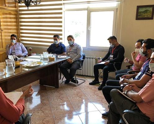 برگزاری جلسه کانون ارزیابی مدیران توسط شرکت آوینا