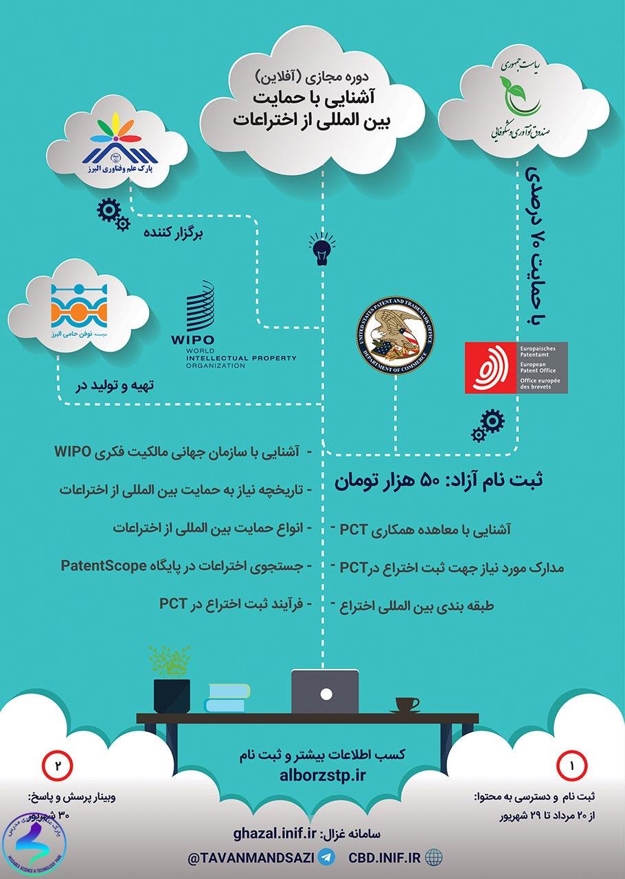 برگزاری دورهی آموزشی آشنایی با حمایت بینالمللی از اختراعات