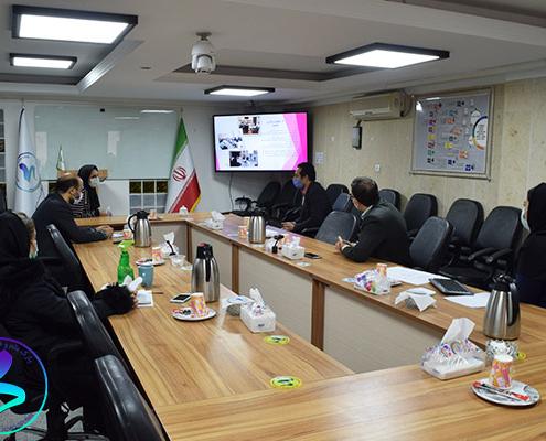برگزاری سومین جلسه داخلی کمیته ناحیه نوآوری