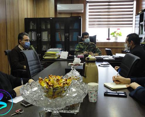 برگزاری جلسه پارک با دانشگاه علوم پزشکی ارتش