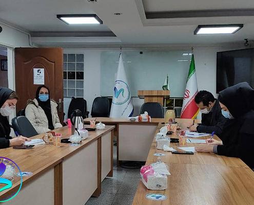 برگزاری چهارمین جلسه داخلی کمیته ناحیه نوآوری مدرس