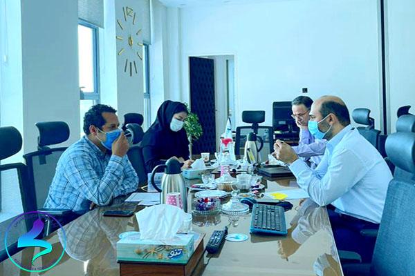 برگزاری هفتمین جلسه داخلی کمیته ناحیه نوآوری مدرس