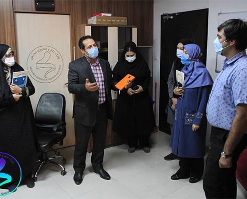 برگزاری جلسه پارک با دانشگاه علوم پزشکی تهران