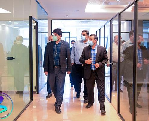 بازدید معاونت علمی و فناوری ریاست جمهوری از مرکز نوآوری و کسبوکار جوانه
