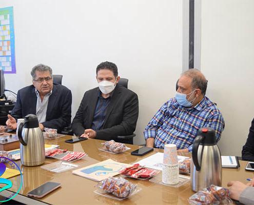 برگزاری جلسه پارک با شهرداری ناحیه 4 منطقه 6 تهران